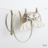 ルイスドッグ【louisdog】Oopie Harness Set/Metalic Glamour Frill