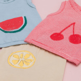 ルイスドッグ【louisdog】Fruits Sleeveless Tee