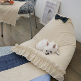 ルイスドッグ【louisdog】My Lounge Sofa/Egyptian Cotton/Yellow Awning Stripes