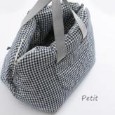 ルイスドッグ【louisdog】Linenaround Bag/Check Petit