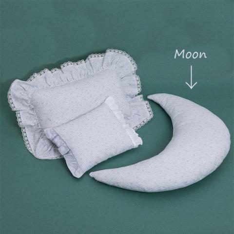 ルイスドッグ【louisdog】Vintage Floral Mooon Pillow