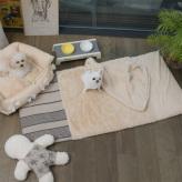 ルイスドッグ【louisdog】Oblique Rug/Vanilla Fur