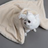 ルイスドッグ【louisdog】Winter Magic Blanket/Vanilla Fur n Corduroy