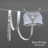 ルイスドッグ【louisdog】Winter Magic Harness Set/Blue Stripes