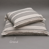 ルイスドッグ【louisdog】Stripes Linen Cushion/Grand