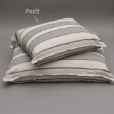 ルイスドッグ【louisdog】Stripes Linen Cushion/Petit