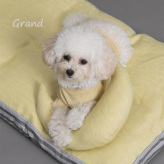 ルイスドッグ【louisdog】Moon Pillow Grand-Irish Linen