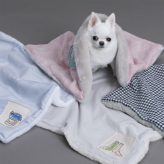 ルイスドッグ【louisdog】Appliqué Blanket