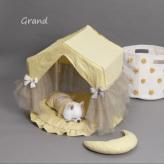 ルイスドッグ【louisdog】Linen Peekaboo/TUTU Grand-Lemon Verbena