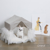 ルイスドッグ【louisdog】Linen Peekaboo/TUTU Grand-Natural