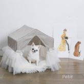 ルイスドッグ【louisdog】Linen Peekaboo/TUTU Petit-Natrural