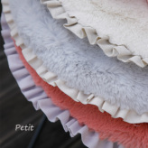 ルイスドッグ【louisdog】Anywhere Fur Rug/Frill Petit