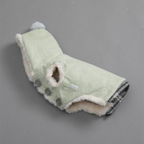 ルイスドッグ【louisdog】Classy Hood/Egyptian Cotton/Patina Green