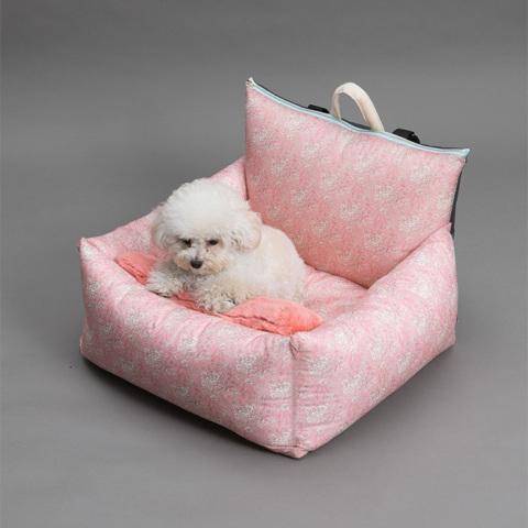 ルイスドッグ【louisdog】Driving Kit/LIBERTY Pink/Picot