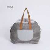 ルイスドッグ【louisdog】Furaround Bag/Aspen Petit-Linen Cold Dye n Pale Blue Fur