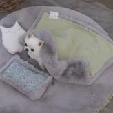 ルイスドッグ【louisdog】Aspen Rug Pale Lilac Fur
