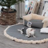 ルイスドッグ【louisdog】Aspen Rug Grey Egyptian Cotton