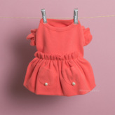 ルイスドッグ【louisdog】Margaux Dress/Coral Pink