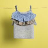ルイスドッグ【louisdog】Flutter Organic T-Shirt/Grey