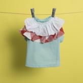 ルイスドッグ【louisdog】Flutter Organic T-Shirt/Mint
