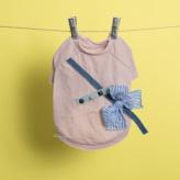 ルイスドッグ【louisdog】Studded Tee Couture/Pink