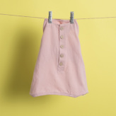 ルイスドッグ【louisdog】Organic Romper/Heavenly Pink