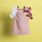 ルイスドッグ【louisdog】Flutter Sleeveless Organic Tee/Heavenly Pink