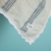 ルイスドッグ【louisdog】BOHO Blanket/Beige Stripes