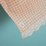 ルイスドッグ【louisdog】BOHO Blanket/Peach Gingham