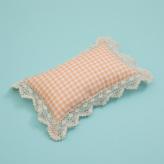 ルイスドッグ【louisdog】BOHO Pillow/Peach Gingham