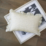 ルイスドッグ【louisdog】Mellow Goose Pillow/Yellow Stripes