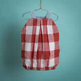 ルイスドッグ【louisdog】Pumpkin Playsuit/Red Gingham Check