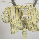 ルイスドッグ【louisdog】Mellow Harness Set/Yellow Stripes
