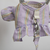 ルイスドッグ【louisdog】Mellow Harness Set/Lavender Stripes