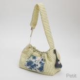 ルイスドッグ【louisdog】Glitter Linen Sling Bag/Petit