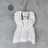 ルイスドッグ【louisdog】Linen Swing Dress/White
