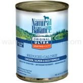【正規品】ナチュラルバランス ドッグ缶 リデュースカロリー 369g×24缶