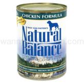 【正規品】ナチュラルバランス ドッグ缶 チキン&ブラウンライス 369g×24缶