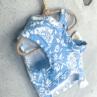 ルイスドッグ【louisdog】Floral One-Shoulder Ribbon Tee