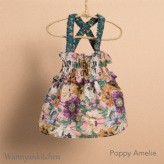ルイスドッグ【louisdog】Sun Dress/Liberty Floral/Poppy Amelie