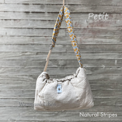 ルイスドッグ【louisdog】Splendid Sling Bag/Petit-Natural Stripes