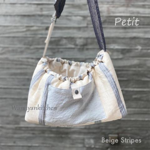 ルイスドッグ【louisdog】Splendid Sling Bag/Petit-Beige Stripes