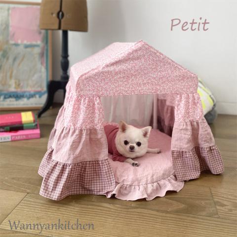 ルイスドッグ【louisdog】Peekaboo/LIBERTY Petit-Ferguson Pink