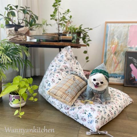 ルイスドッグ【louisdog】My Lounge Sofa/Liberty Floral Academy White