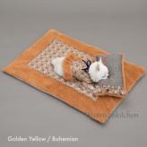 ルイスドッグ【louisdog】Blooming Rug/Fur Goldern Yellow Fur/Bohemian