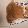 ルイスドッグ【louisdog】Fur Harness Set/Goldern Yellow Fur