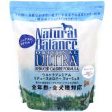 【正規品】ナチュラルバランス リデュースカロリー グレインフリー シニア ドッグフード 2.27kg