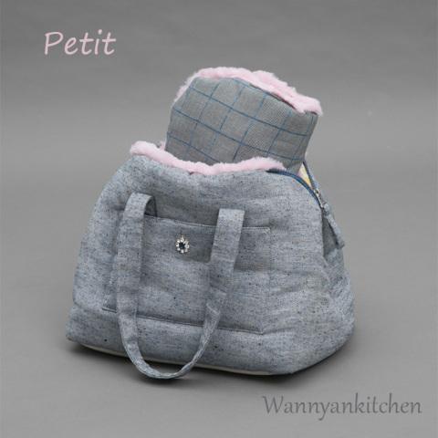 ルイスドッグ【louisdog】Furaround Bag/Omni/Petit-Navy Tweed