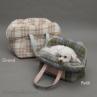 ルイスドッグ【louisdog】Linenaround Bag/Plaid Petit-Purple Khaki Plaid