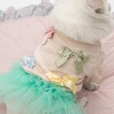 ルイスドッグ【louisdog】Organic et Silk Cardigan/Blouson Multi Ribbon